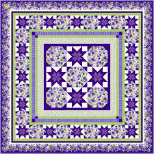 Purple Quilt Patterns Magnificent Decorating Ideas