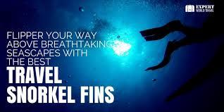 Best Snorkel Fins For Travel Expert World Travel