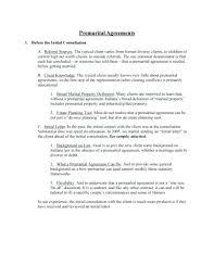 Sample Prenup Prenuptial Agreement Florida Sample Elegant Nuptial Agreement