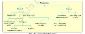 Flow Chart Of Classification Of Resources Flow Chart Of Classification Of Resources With Examples