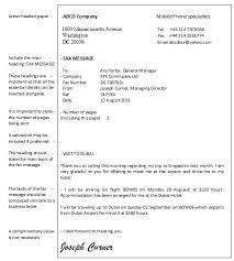 Example Of A Fax Message Fax Message Example Under Fontanacountryinn Com