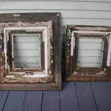 reuse old wood frames