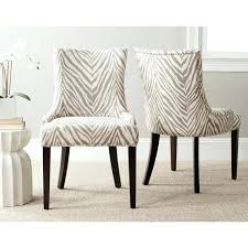zebra dining chair en vogue dining grey zebra dining chairs set of 2 en vogue dining zebra dining chair