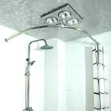 round corner shower curtain rod small shower rod small curved shower rod put the right curved