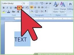 image titled create superscript and subscript in ms word step 6