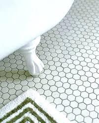 bathroom floor tile hexagon. Small Hexagon Bathroom Tiles White Hex Floor Tile Ideas And With Decorations 3