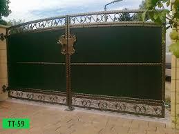 Bitte anklicken montage die montage unserer zäune aus polen wir von. Sichtschutzzaune Thor Kunstschmiede Zaune Aus Polen Zaunelemente Metallzaune Gartenzaun