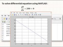 how to solve diffeial equation