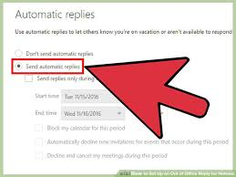 Automatic Respond How To Set Up An Out Of Office Reply For Hotmail 7 Steps