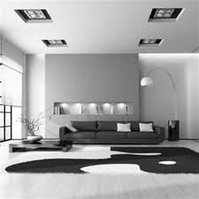 Modern Black And White Living Room Black And White Living Room Ideas Standing Lamp Photograph Soft