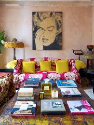 391 Best Pink Living Rooms Images On Pinterest  Pink Living Rooms Bright Color Home Decor