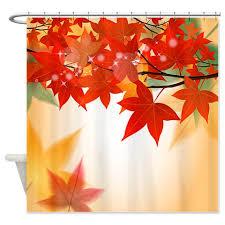 autumn leaves 8 shower curtain autumn leaves 8 shower curtain jpg