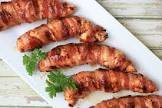 bacon wrapped grilled chicken