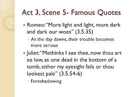 Famous Romeo And Juliet Quotes Adorable Romeo And Juliet Act 48 Notes Ppt Video Online Download