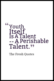 Famous Quotes On Youth