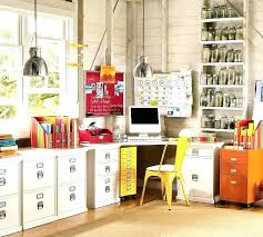 ideas office storage. Small Office Storage Ideas View In Gallery Vibrant Retro Home
