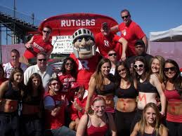 rutgers alive campus ru rah rah sports at rutgers