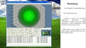 Lens Design Software Modeling And Design Of Electromagnetic Lenses Through