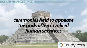 ancient aztec public works the aztecs civilization culture video lesson transcript