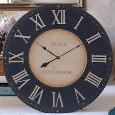 wall clock 36 framed antique style tuscan black gallery