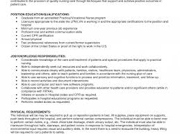 Astounding New Grad Lpn Jobs Sample Resume Template For College