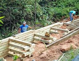 how to build a timber retaining wall timber retaining wall timber retaining wall timber retaining wall