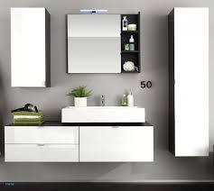 Badezimmermöbel Set 2 Waschbecken Badmöbel Set Grifflos 120 Cm
