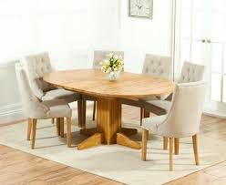 extendable dining table and 6 black chairs glass seats 4 solid oak round extending with pacific