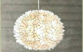 chandeliers lotus flower chandelier shell ball large lotus flower