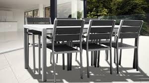 Ensemble table chaise exterieur | Domino panda