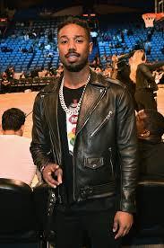 michael b jordan black real sheep skin leather jacket