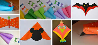 How To Make Designer Kite How To Make A Simple Kite Out Of Paper A Diy Activity For Kids