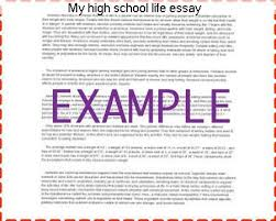 my high school life essay essay writing service my high school life essay