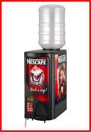 Nescafe Tea Coffee Vending Machine Interesting Double Option Tea Coffee Vending Machine NESCAFE Vishwas