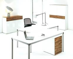 office desk layouts. White Office Table Desk Designs Layouts