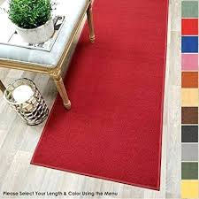 natural rug pad natural rubber and felt rug pad best of custom size red solid natural rug pad
