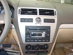 ford fusion and mercury milan car audio profile mercury milan factory radio