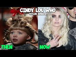 how the grinch stole christmas cindy lou now. Wonderful Stole The Grinch Then And Now 2016 Inside How Stole Christmas Cindy Lou YouTube