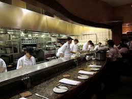 Small Restaurant Kitchen Layout Commercial Open Kitchen Concept