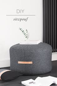 Fabulous DIY Poufs and Ottomans - DIY Pouf Ottoman - Step by Step Tutorials  and Easy