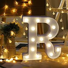 Lighting In Interior Design Delectable Amazon Amiley Light Up Letters DIY LED Decorative A Z