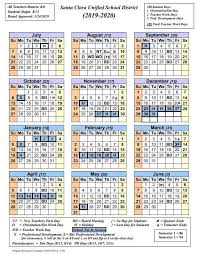 2019 2020 School Year Calendar Now Available
