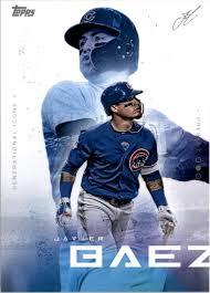 Discover more baseball, ednel javier báez, javier baez wallpapers. 2019 Topps X Lindor 8 Javier Baez Nm Mt