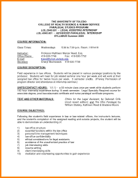 9 Paralegal Cover Letter No Experience Informal Letters