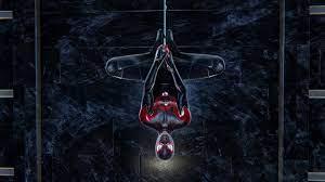 Spider-Man Miles Morales Upside Down HD ...