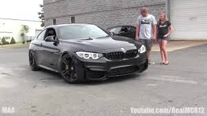 All BMW Models blacked out bmw x3 : Blacked Out BMW M4 Walkaround - YouTube