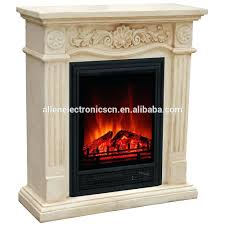 castlecreek electric stone fireplace heater with mantelpiece fireplaces clearance