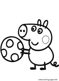Small Picture peppa pig play soccer Coloring pages Printable