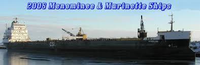 2008 menominee marinette ships