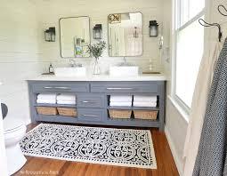modern bathroom ideas on a budget. A Bedroom Is Turned Into Modern Farmhouse Style Master Bathroom On Budget. Everything Ideas Budget